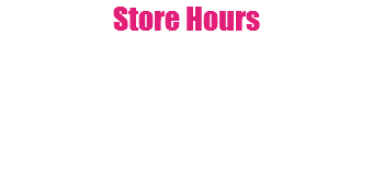 Store Hours Monday and Tuesday: 3pm-6pm Saturday: 9am-12:00pm Wednesday, Thursday, Friday: By appointment only Our store location will be closed during vendor events. Please refer to our upcoming events for those dates!